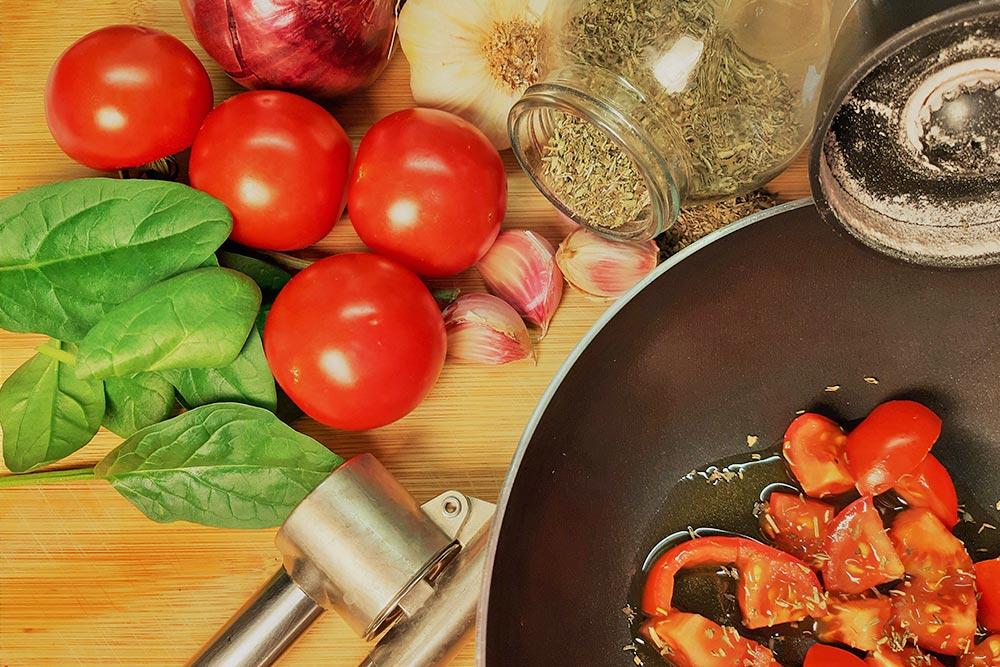 Italien-Italienische Küche